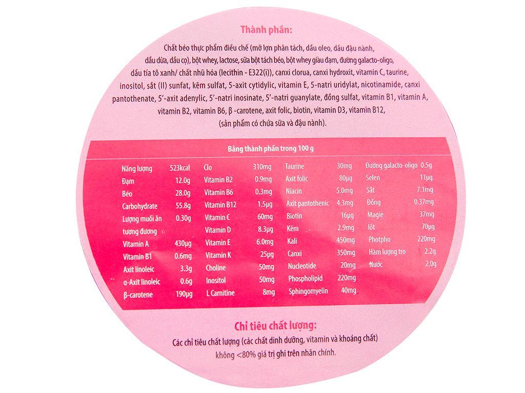 Sữa bột Glico Icreo số 0 lon 320g (0 - 12 tháng) 5