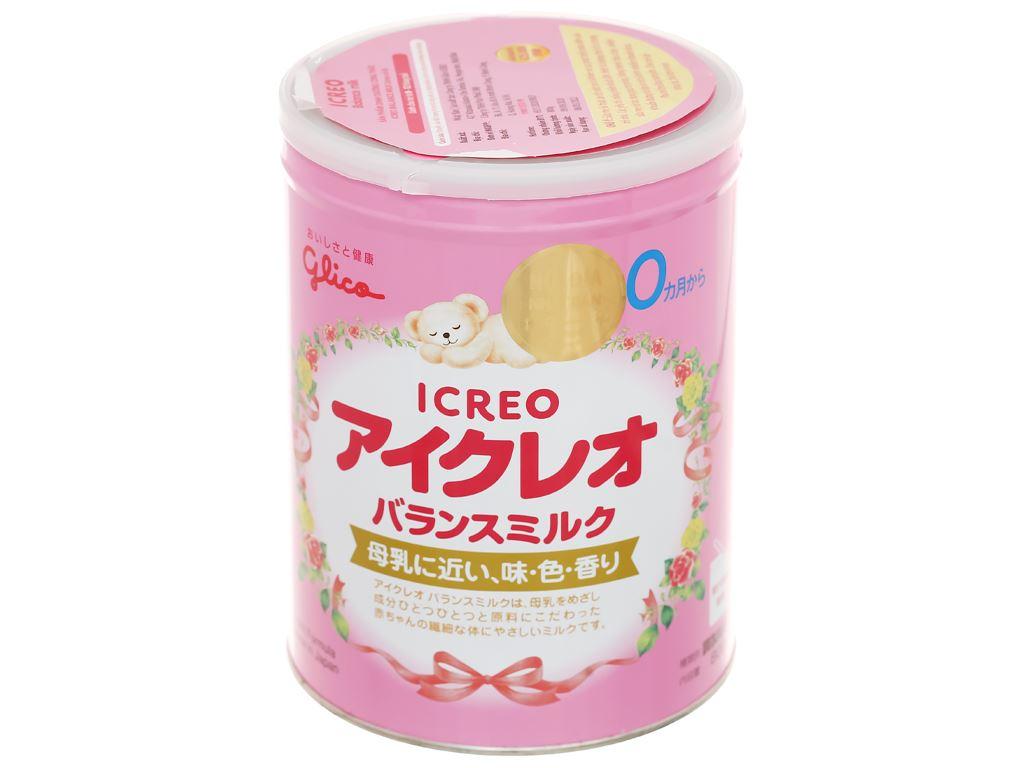 Combo 2 lon sữa bột Glico Icreo số 0 800g (0 - 12 tháng) 2
