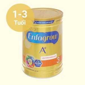 Sữa bột Enfagrow A+ 3 hương vani 1.7kg (1 - 3 tuổi)