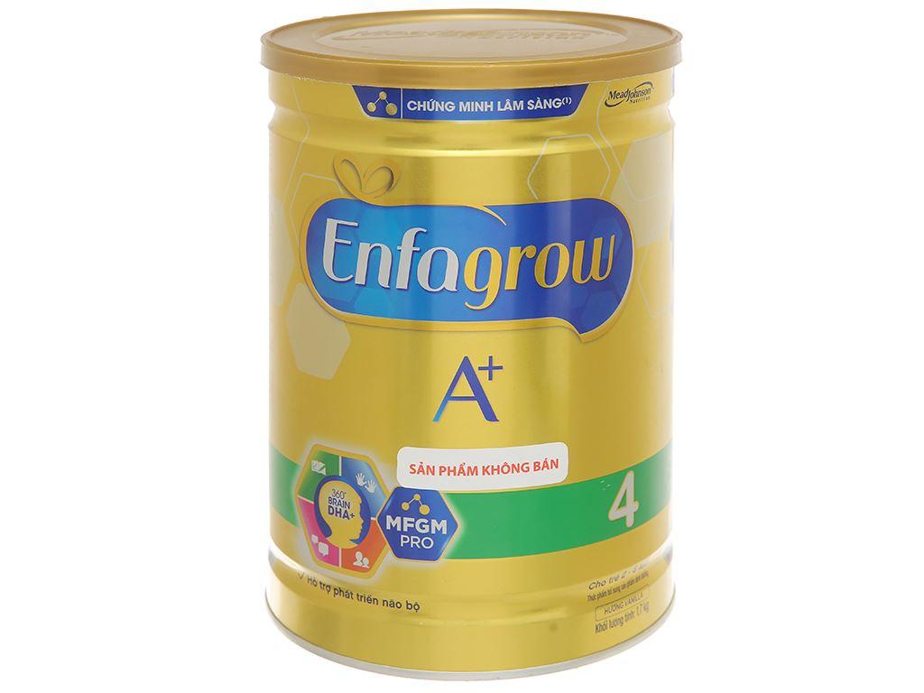 Sữa bột Enfagrow A+ 4 hương vani 1.7kg (2 - 6 tuổi) 1