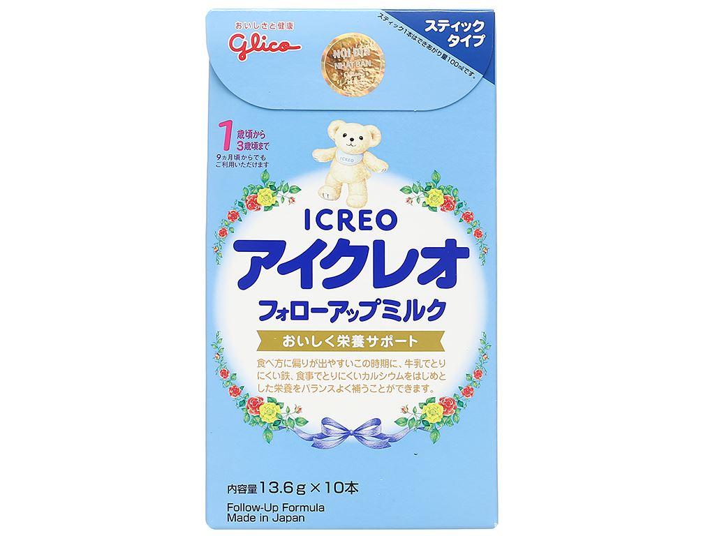 Sữa bột Glico Icreo số 1 hộp 136g (9 - 36 tháng) 1