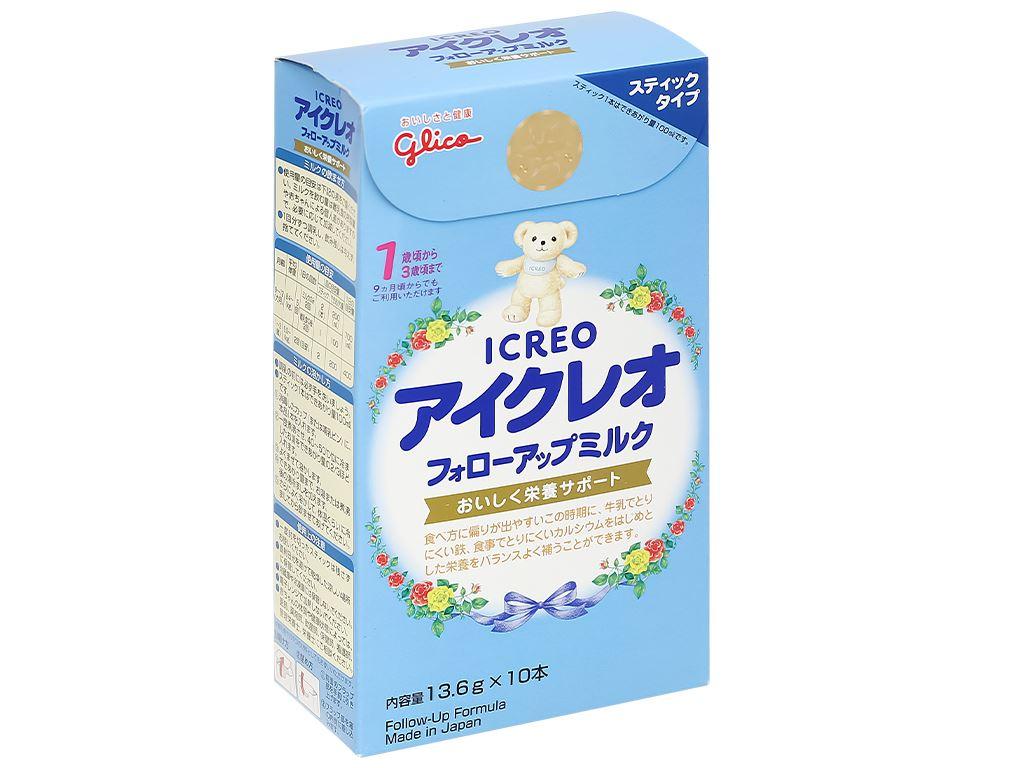 Sữa bột Glico Icreo số 1 hộp 136g (9 - 36 tháng) 3
