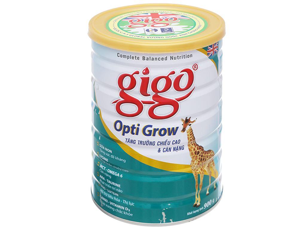 Sữa bột Gigo Opti Grow lon 900g (1 - 17 tuổi) 1