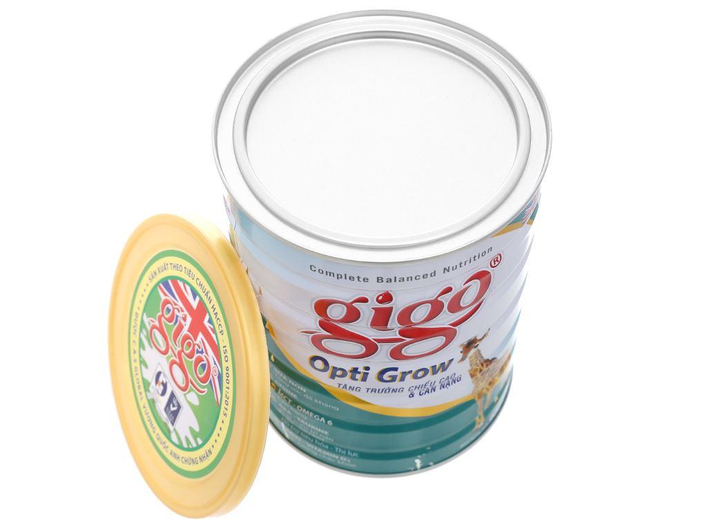 Sữa bột Gigo Opti Grow lon 900g (1 - 17 tuổi) 9