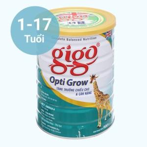 Sữa bột Gigo Opti Grow lon 900g (1 - 17 tuổi)
