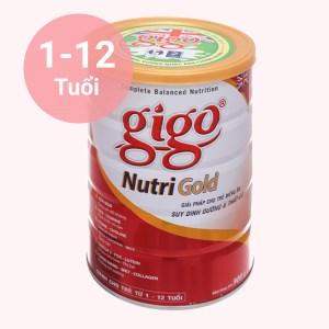 Sữa bột Gigo Nutri Gold lon 900g (1 - 12 tuổi)