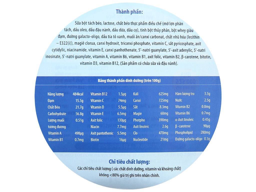 Combo 2 lon sữa bột Glico Icreo số 1 820g (9 - 36 tháng) 7
