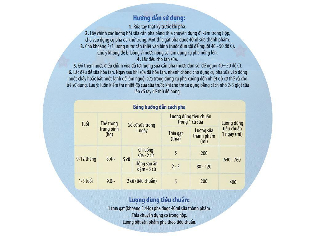 Combo 2 lon sữa bột Glico Icreo số 1 820g (9 - 36 tháng) 8