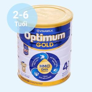 Sữa bột Optimum Gold 4 lon 1450g (2 - 6 tuổi)