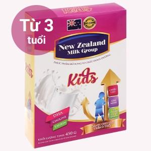 Sữa bột New Zealand Milk Kids hộp 450g (trên 3 tuổi)