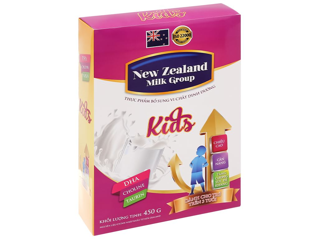 Sữa bột New Zealand Milk Kids hộp 450g (trên 3 tuổi) 3