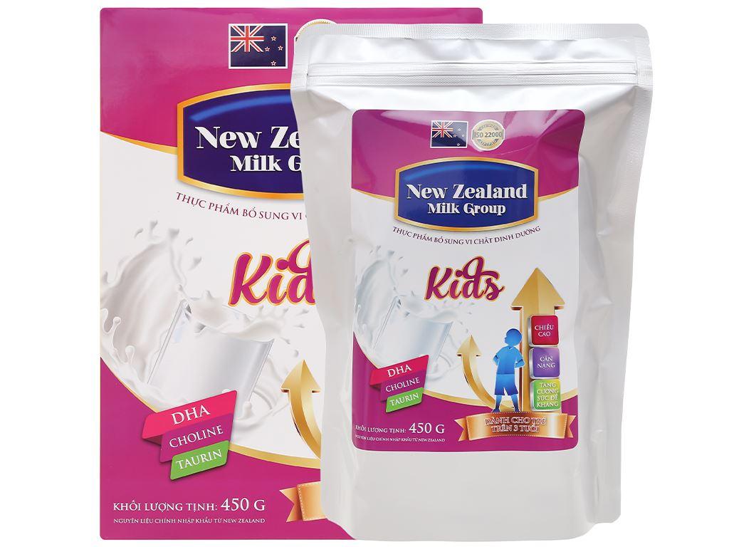 Sữa bột New Zealand Milk Kids hộp 450g (trên 3 tuổi) 6