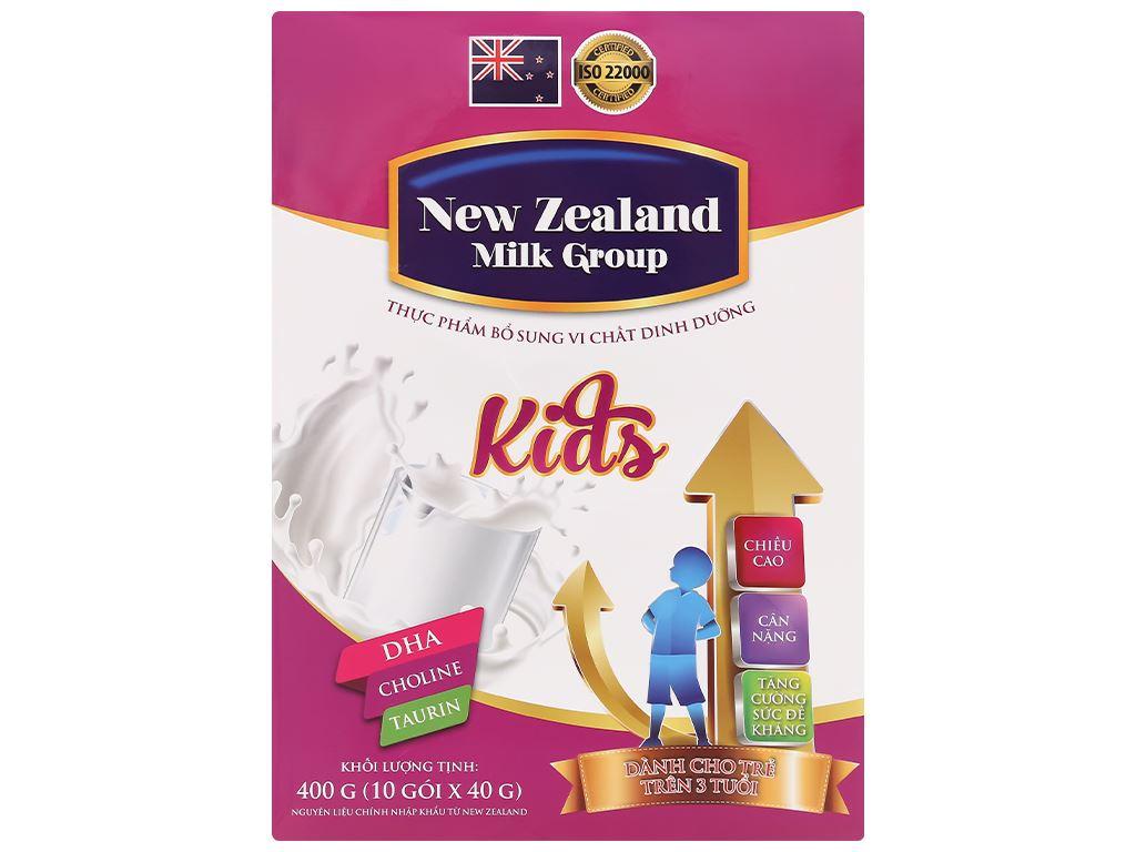 Sữa bột New Zealand Milk Kids hộp 400g (trên 3 tuổi) 1