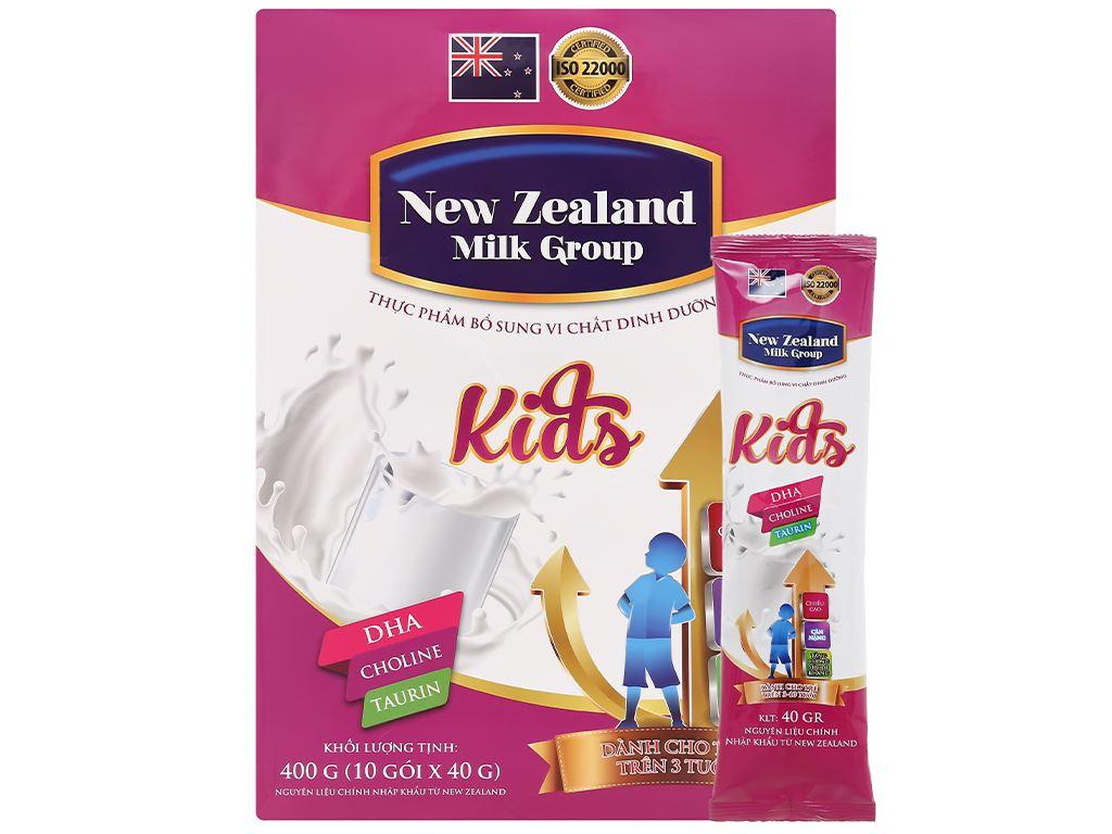 Sữa bột New Zealand Milk Kids hộp 400g (trên 3 tuổi) 6
