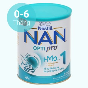 Sữa bột NAN Optipro 1 lon 900g (0 - 6 tháng)