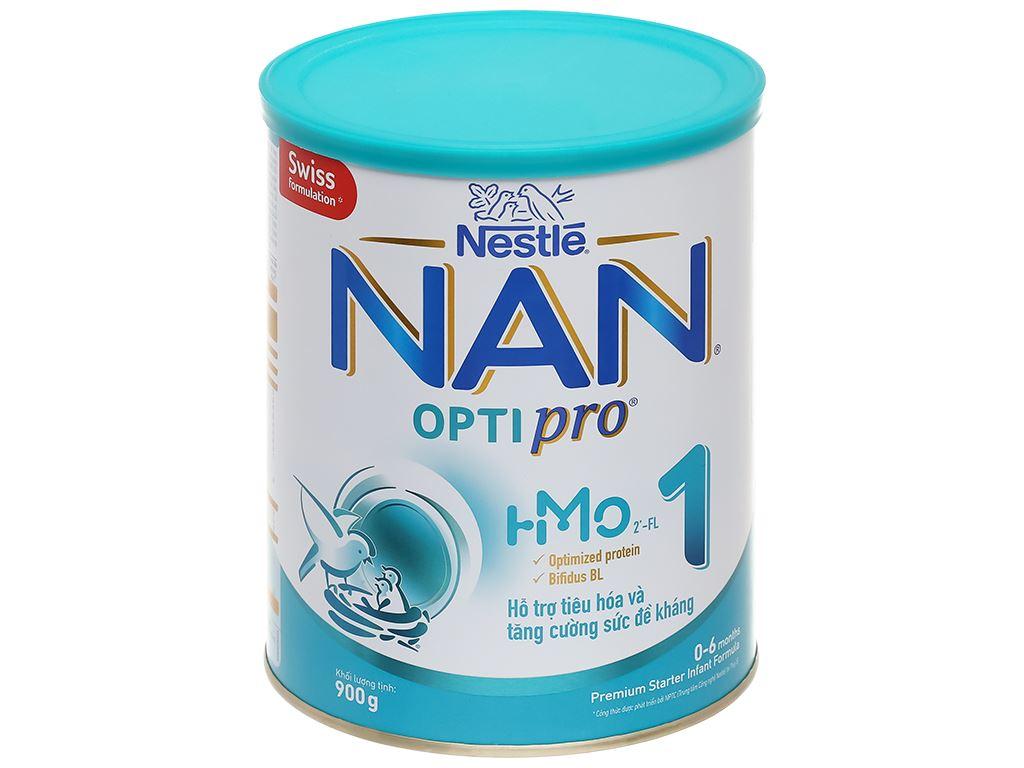 Sữa bột NAN Optipro 1 lon 900g (0 - 6 tháng) 1