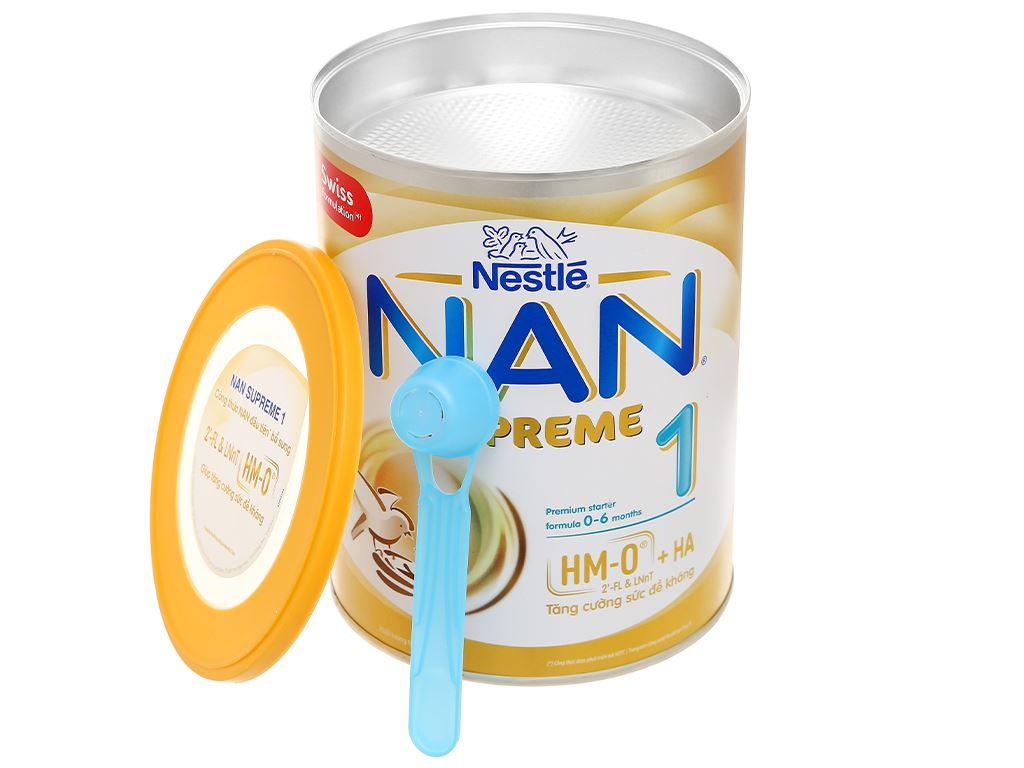 Sữa bột NAN Supreme 1 lon 800g (0 - 6 tháng) 7