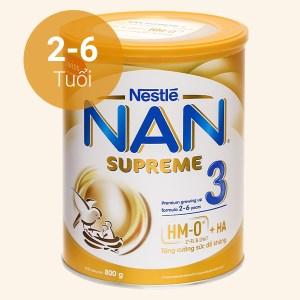Sữa bột NAN Supreme 3 lon 800g (2 - 6 tuổi)