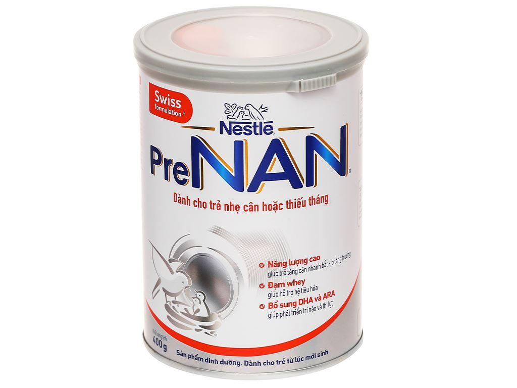 Sữa bột pre NAN lon 400g (dành cho trẻ từ lúc mới sinh) 1