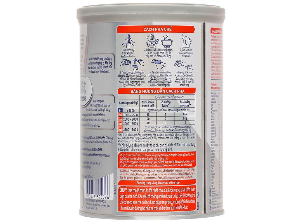 Sữa bột pre NAN lon 400g (dành cho trẻ từ lúc mới sinh) 3