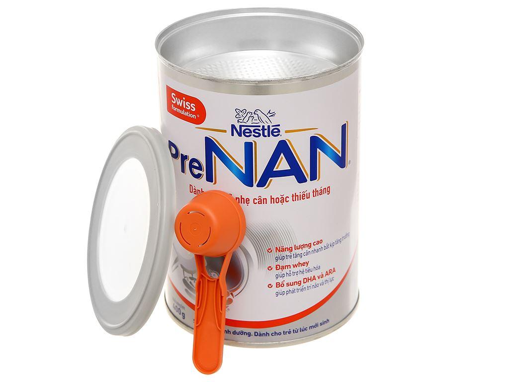Sữa bột pre NAN lon 400g (dành cho trẻ từ lúc mới sinh) 8
