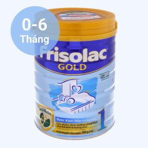 Sữa bột Frisolac Gold 1 lon 900g (0 - 6 tháng)