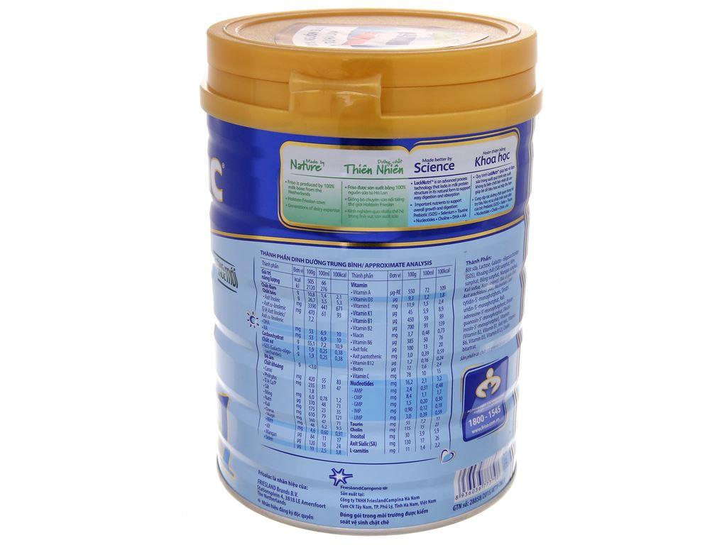 Sữa bột Frisolac Gold 1 lon 900g (0 - 6 tháng) 3