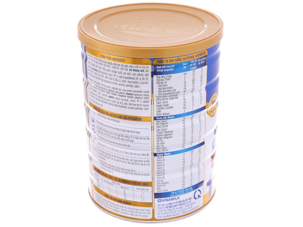 Sữa bột Dielac Alpha 1 lon 900g (0 - 6 tháng) 4