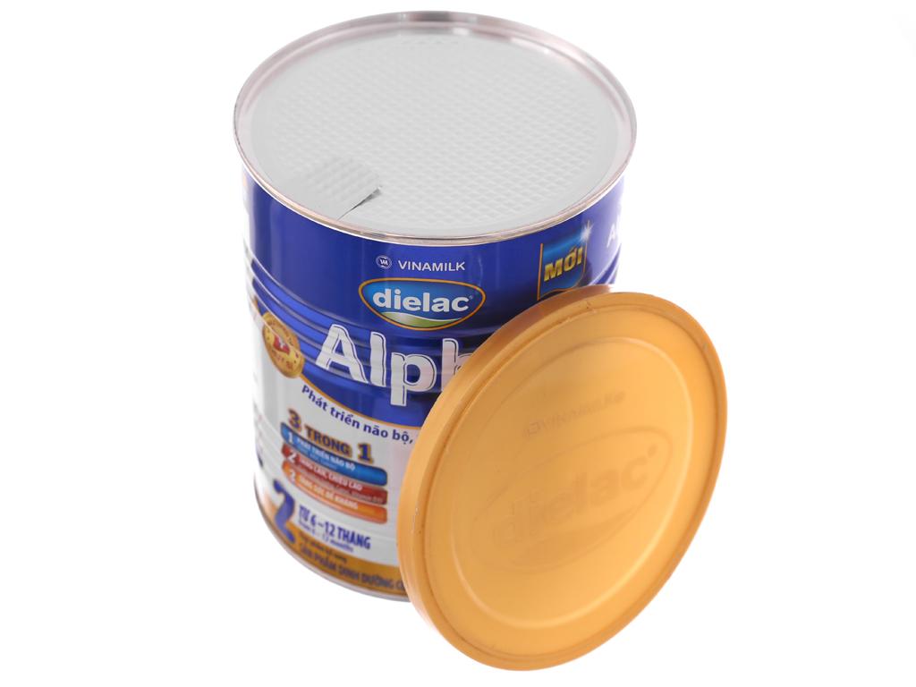 Sữa bột Dielac Alpha 2 lon 400g (6 - 12 tháng) 5