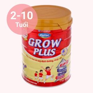 Sữa bột Dielac Grow Plus 2+ đỏ lon 900g (2 - 10 tuổi)