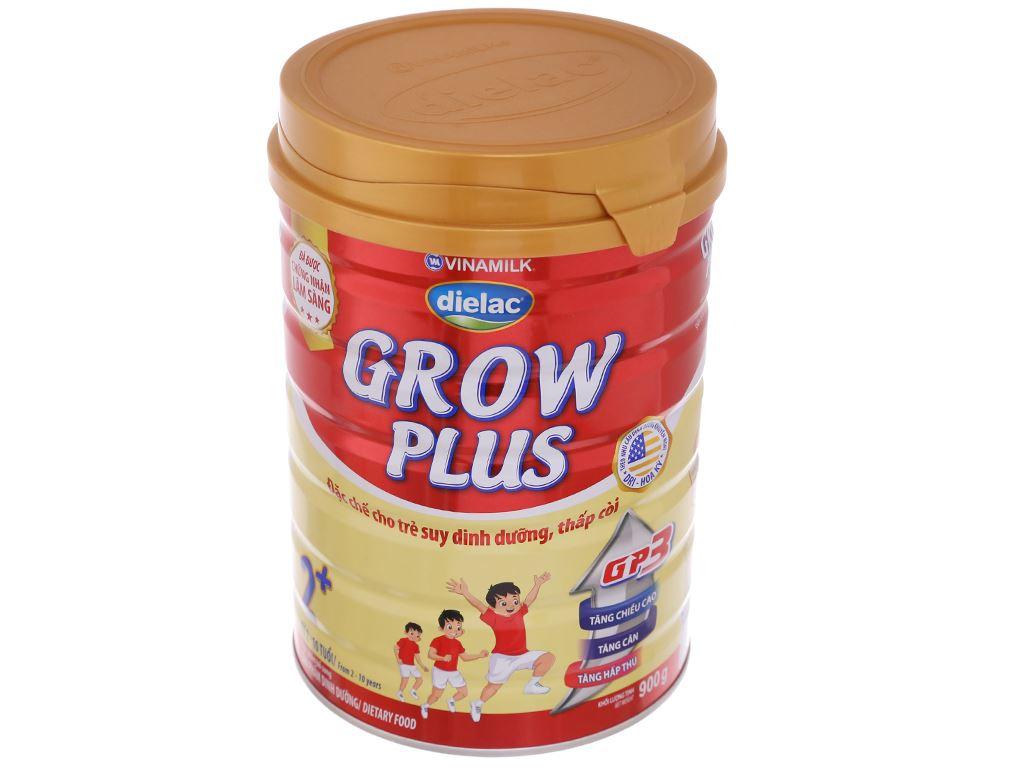 Sữa bột Dielac Grow Plus 2+ đỏ lon 900g (2 - 10 tuổi) 2