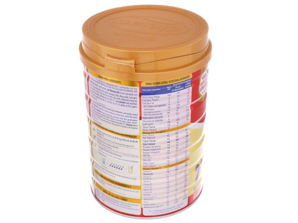 Sữa bột Dielac Grow Plus 2+ đỏ lon 900g (2 - 10 tuổi) 4