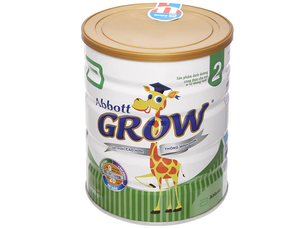 Sữa bột Abbott Grow 2 lon 900g (6 - 12 tháng) 4