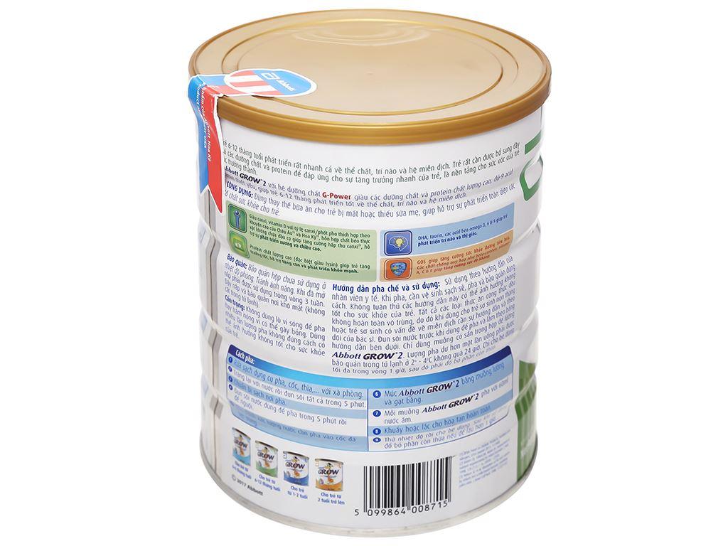 Sữa bột Abbott Grow 2 lon 900g (6 - 12 tháng) 5