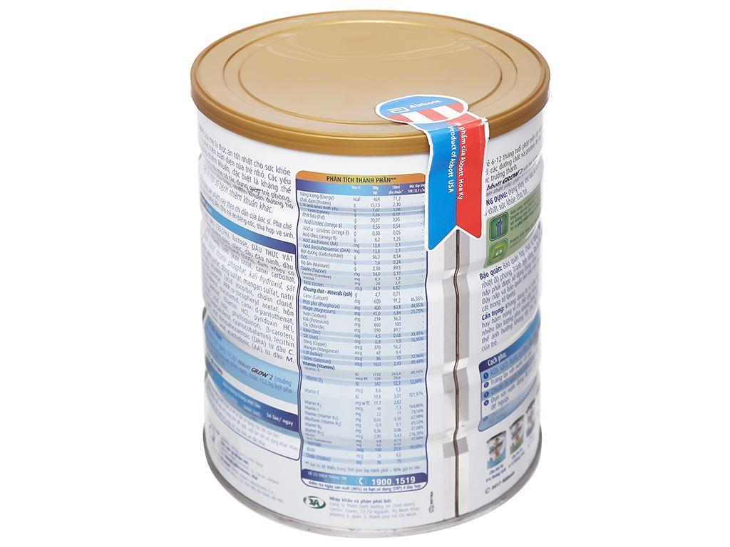 Sữa bột Abbott Grow 2 lon 900g (6 - 12 tháng) 6