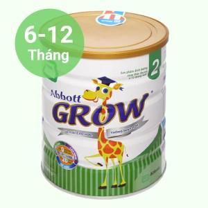 Sữa bột Abbott Grow 2 lon 900g (6 - 12 tháng)