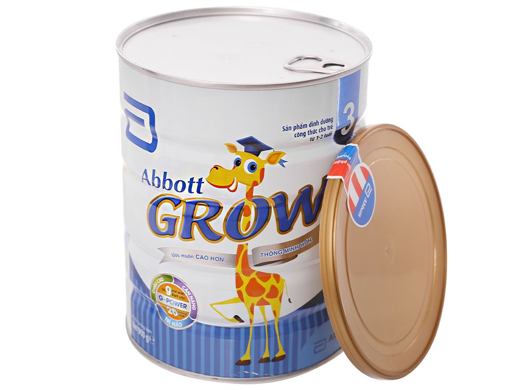Sữa bột Abbott Grow 3 lon 900g (1 - 2 tuổi) 4