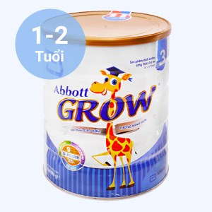 Sữa bột Abbott Grow 3 lon 900g (1 - 2 tuổi)