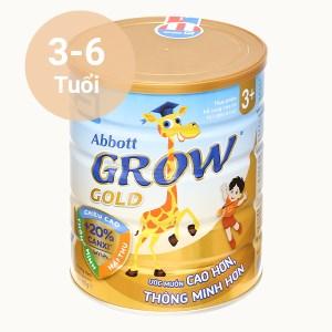 Sữa bột Abbott Grow Gold 3+ hương vani lon 900g (3 - 6 tuổi)