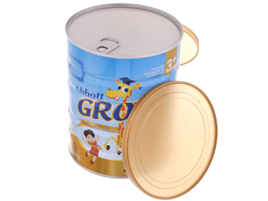 Sữa bột Abbott Grow Grow Gold 3+ hương vani lon 900g (3 - 6 tuổi) 5