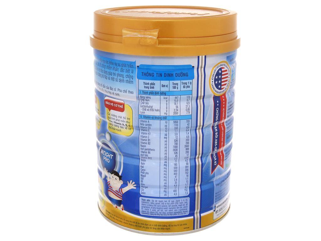 Sữa bột NutiFood Grow Plus+ tăng cân khoẻ mạnh lon 900g (trên 1 tuổi) 4