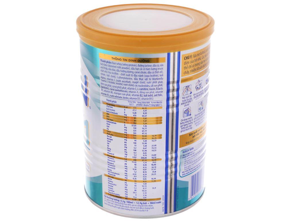 Sữa bột Nestlé NAN Optipro 1 lon 400g (0 - 6 tháng) 3
