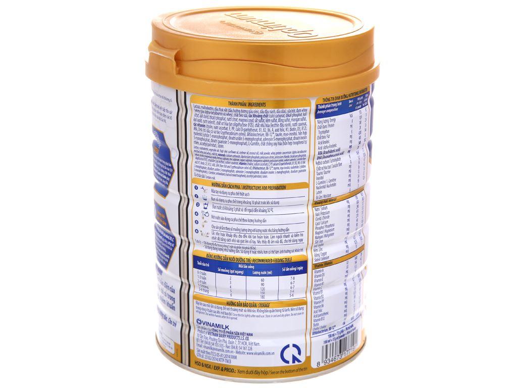 Sữa bột Optimum Gold 1 lon 900g (0 - 6 tháng) 4