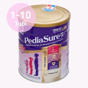 Sữa bột Abbott PediaSure PediaSure BA hương vani lon 850g (1 - 10 tuổi)