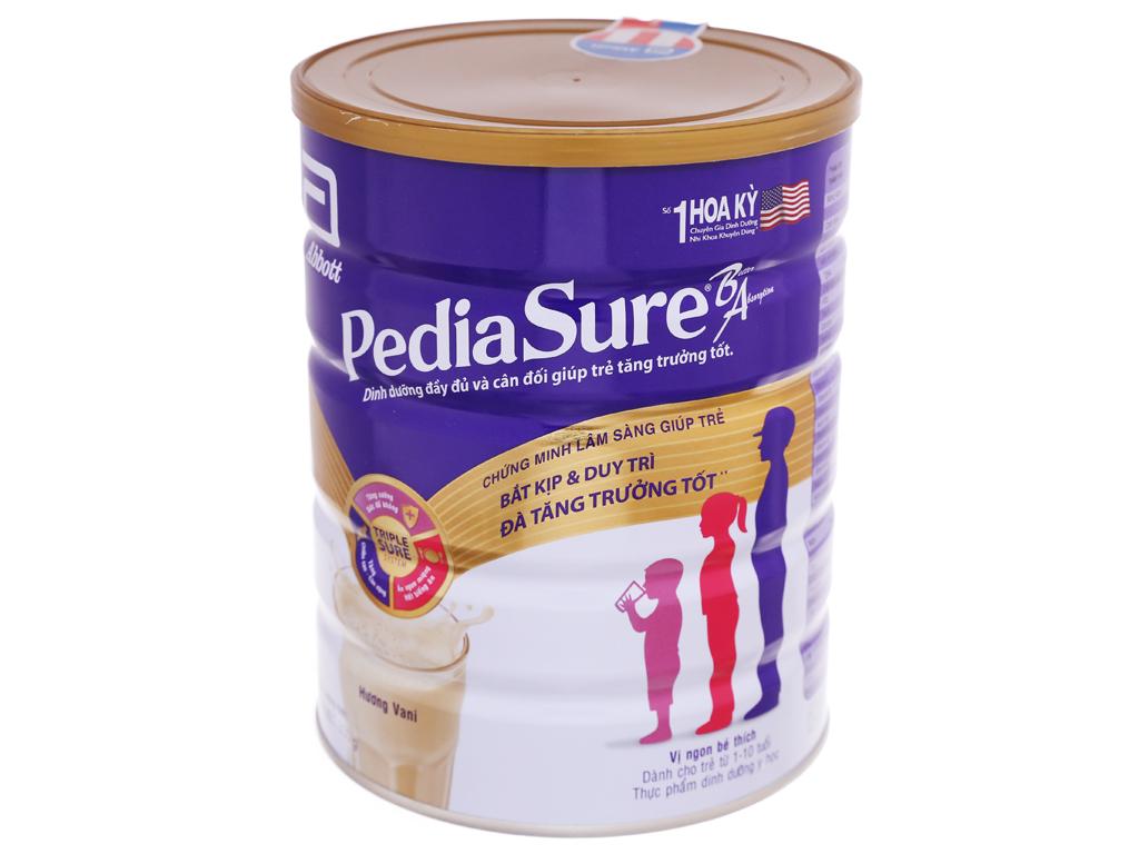 Sữa bột Abbott PediaSure PediaSure BA hương vani lon 850g (1 - 10 tuổi) 2
