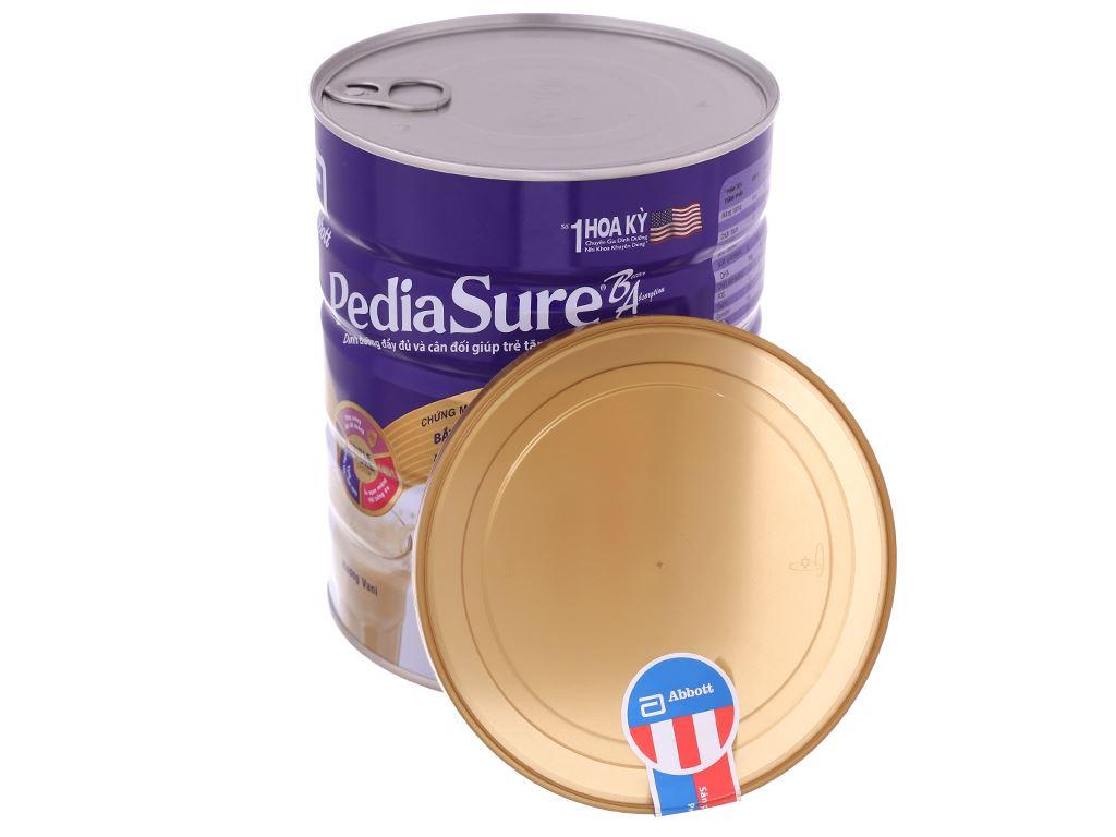 Sữa bột Abbott PediaSure PediaSure BA hương vani lon 850g (1 - 10 tuổi) 5