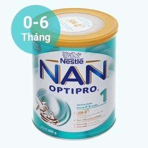 Sữa bột Nestlé NAN Optipro 1 lon 800g (0 - 6 tháng)