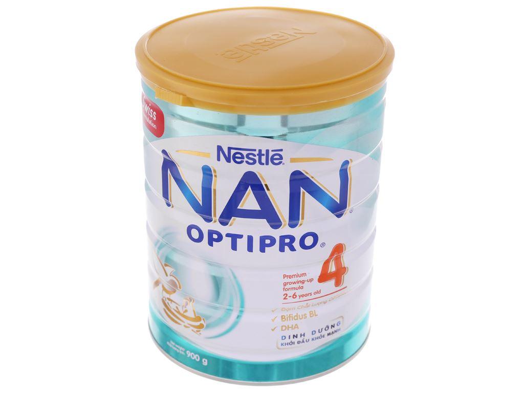 Sữa bột Nestlé NAN Optipro 4 lon 900g (2 - 6 tuổi) 1