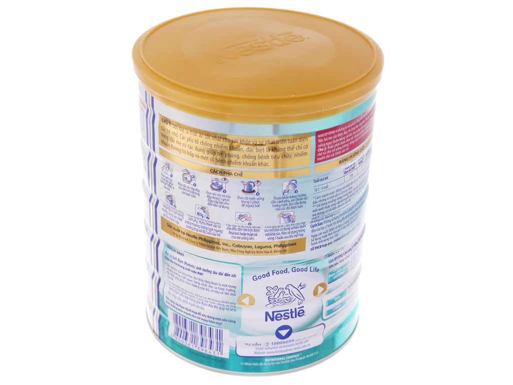 Sữa bột Nestlé NAN Optipro 4 lon 900g (2 - 6 tuổi) 3