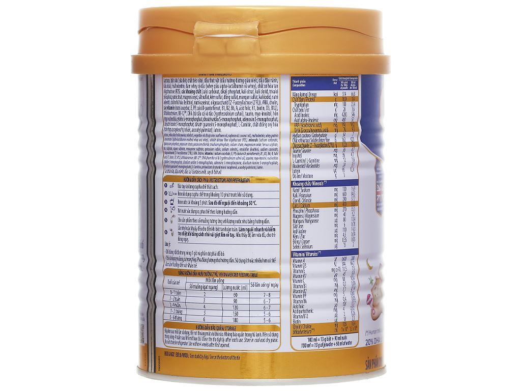 Sữa bột Optimum Gold 1 lon 400g (0 - 6 tháng) 2